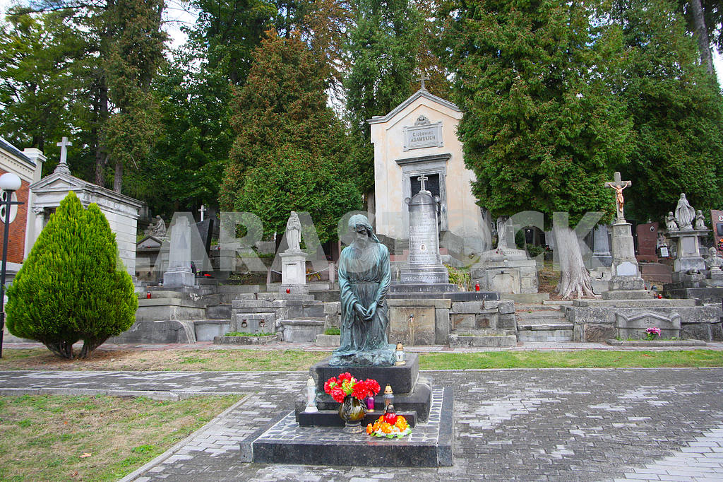 Monuments on the Lychakiv Cemetery — Image 38442