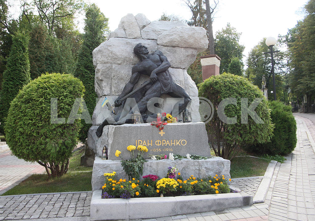 Monument to Ivan Franko Lychakiv Cemetery — Image 38445