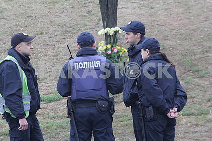 Place of death of policemen