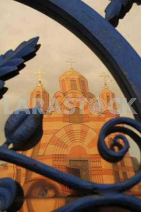"""Temple complex in honor of the icon of the Mother of God """"Iverskaya"""" in the Dnieper"""