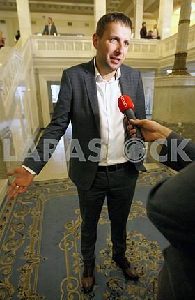 People's deputy Volodymyr Parasyuk