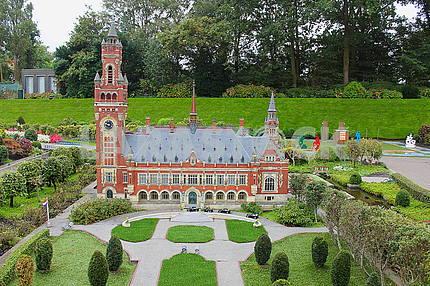 Парк миниатюр Мадюродам в Гааге