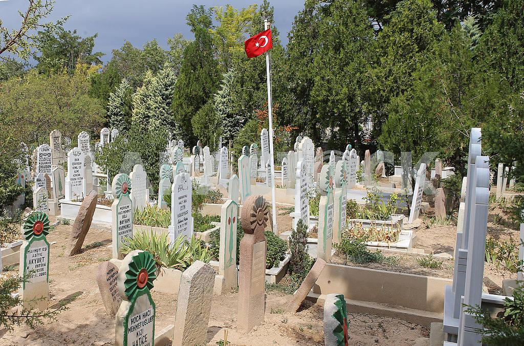 Muslim cemetery in Konya — Image 38792