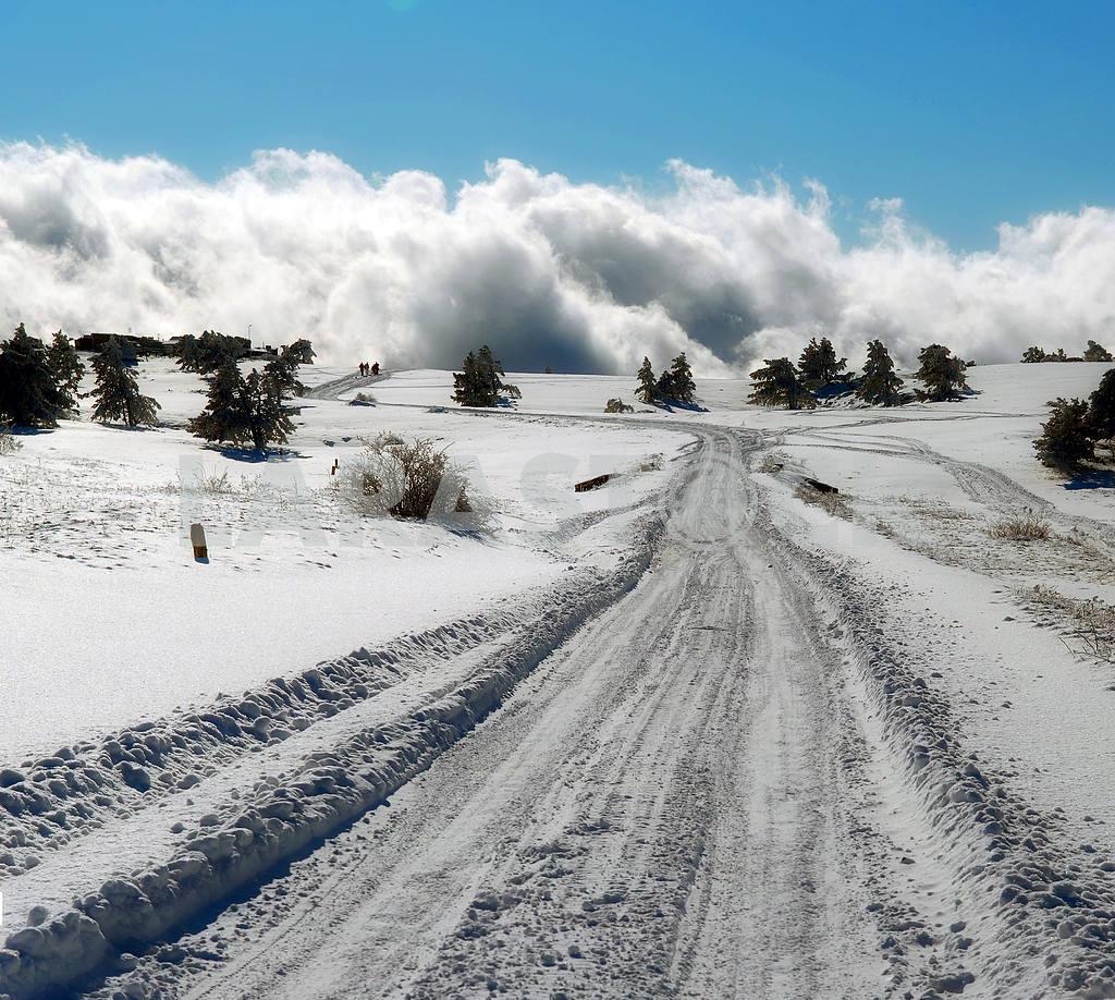 Winter road  — Image 3883