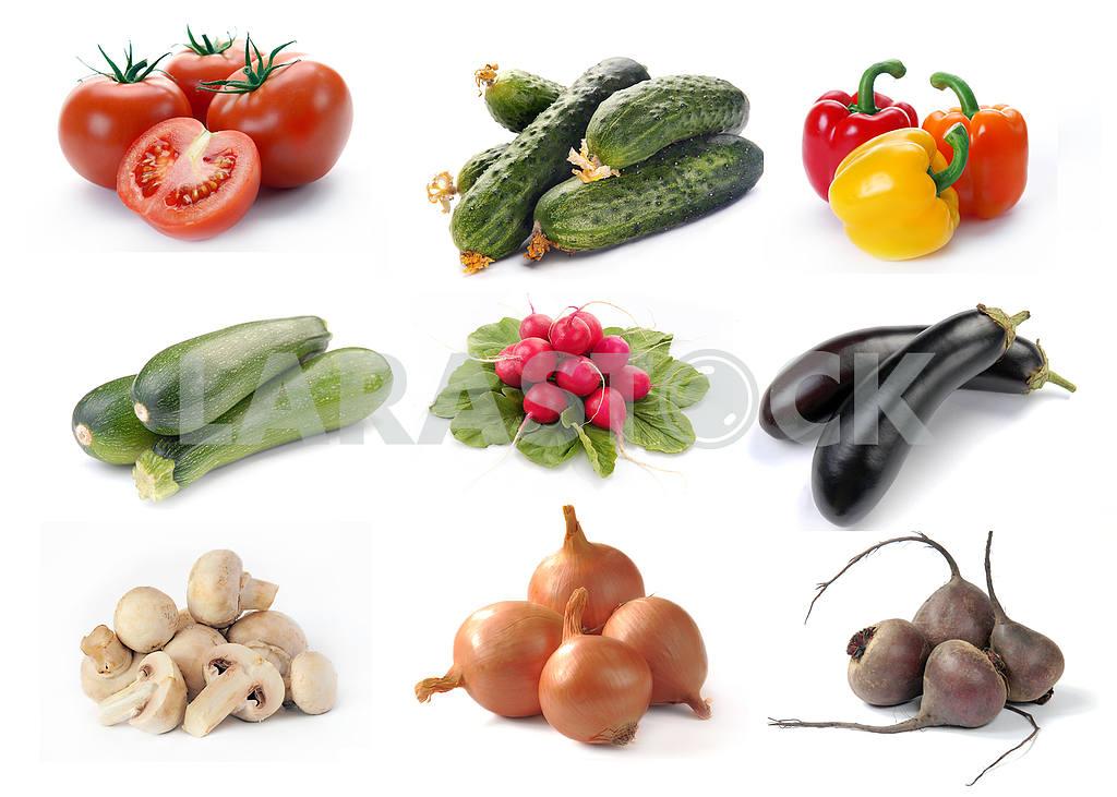 Set of vegetables — Image 3970