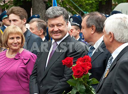 Petro Poroshenko, Vinnitsa, May 9, 2012 g