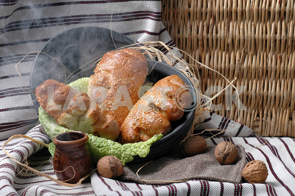 Rolls with boiled potatoes — Image 3996