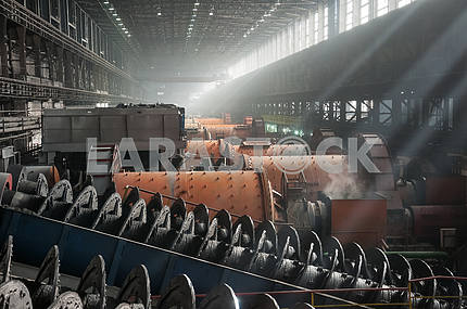 Ore-dressing and processing enterprise