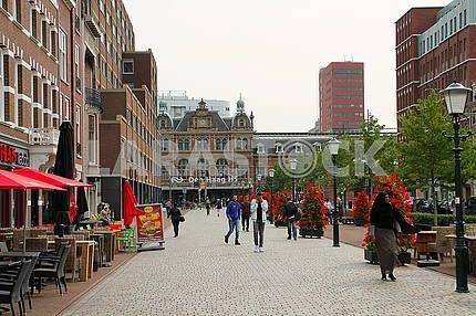 The train station Den Haag HS