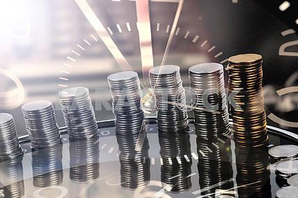 Финансовый отчет. Время - деньги и богатство.
