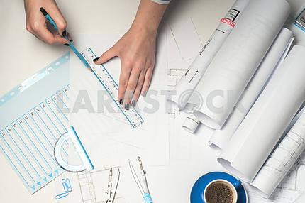 Рабочее место архитектора