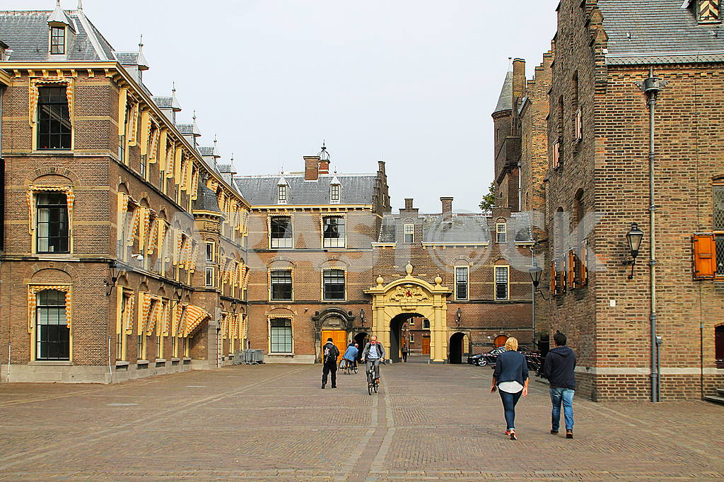 The Hague: The palace complex Binnenhof — Image 42210