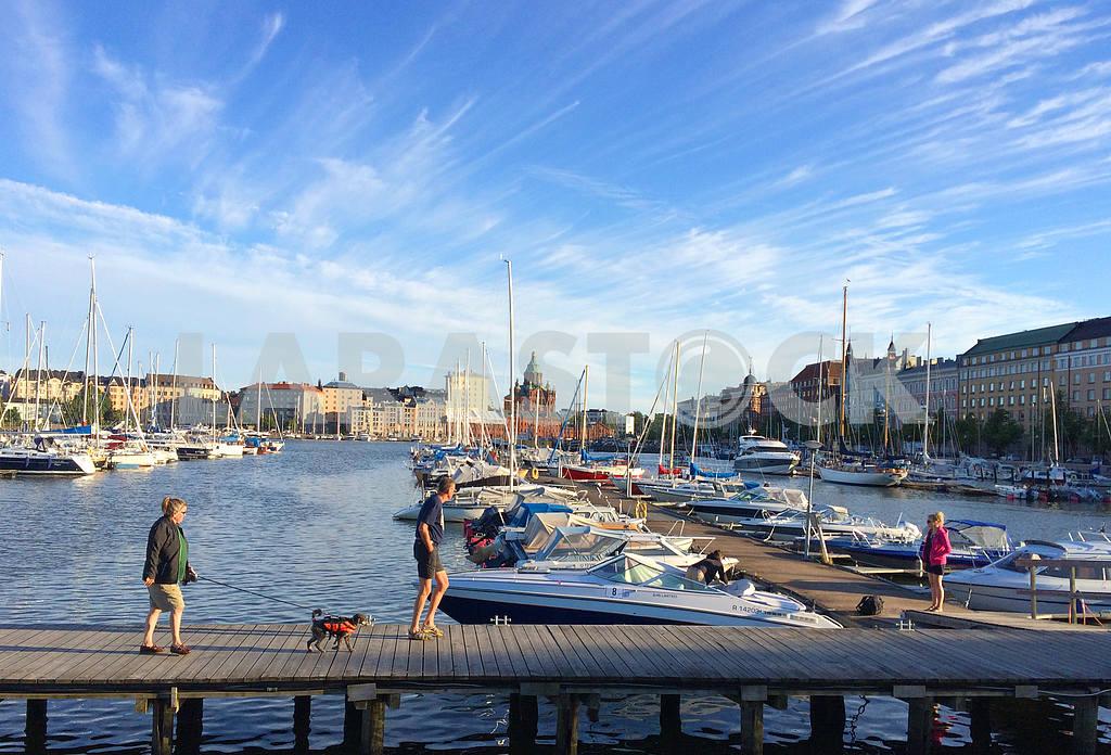 Yacht club in Helsinki — Image 42454