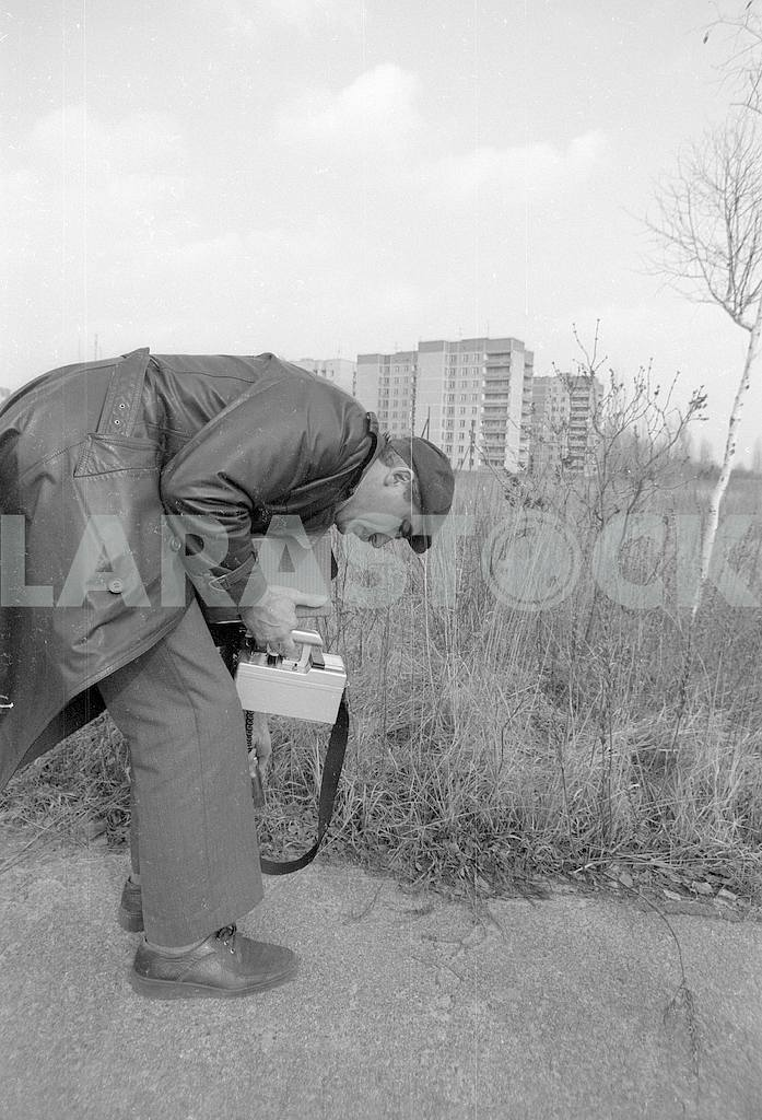 Radiation control in Pripyat — Image 42550