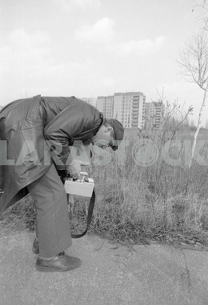 Radiation control in Pripyat — Image 42550