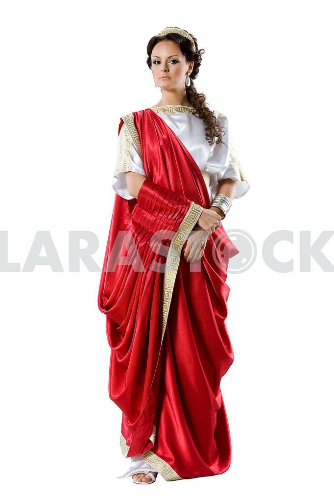 Roman-Greek goddesses, isolated on white — Image 4537