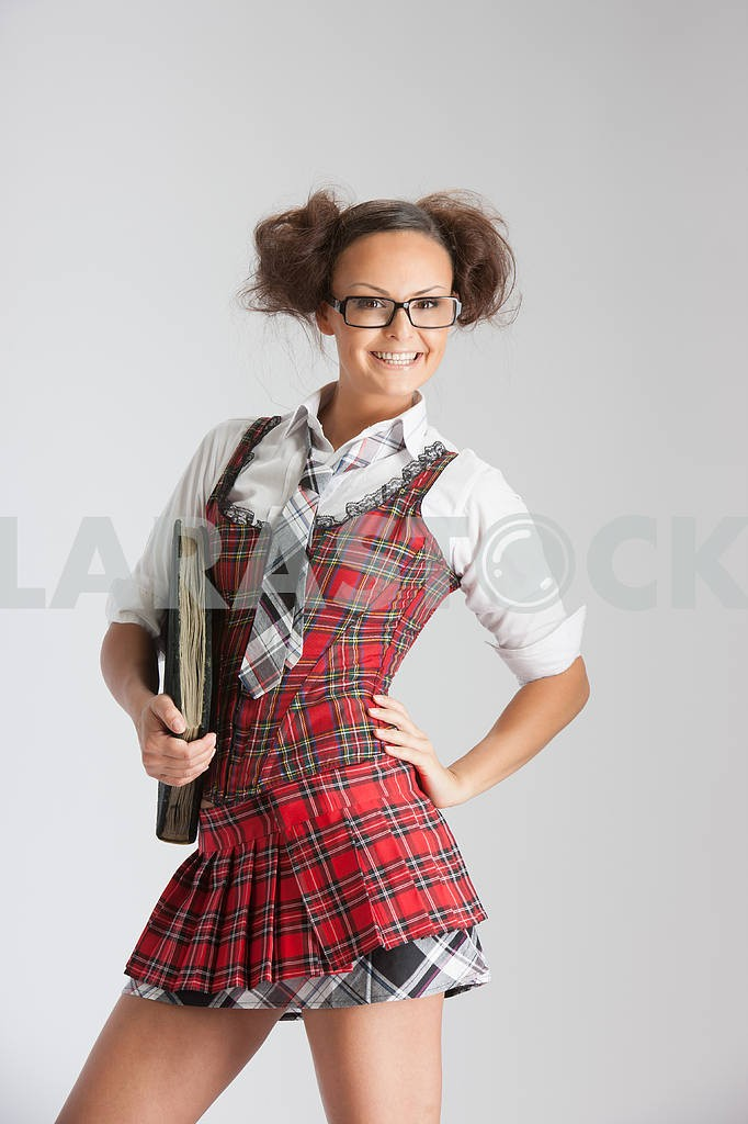 Lovely sexy school girl — Image 4541