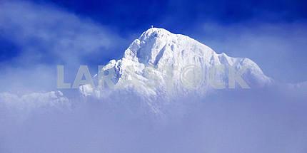Snowy peaks in Tyrol, Austria