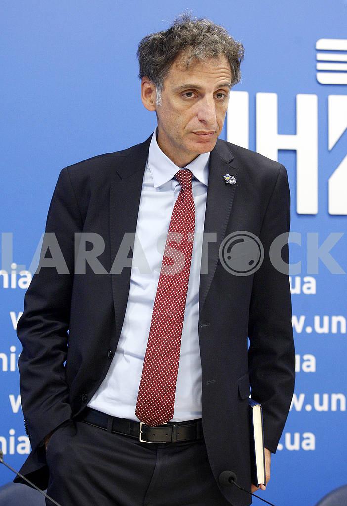 Half-length portrait of Ambassador Extraordinary and Plenipotentiary of Israel to Ukraine Eliav Belotserkovskii — Image 46058