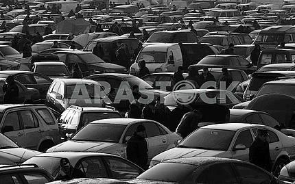Car market near Kiev