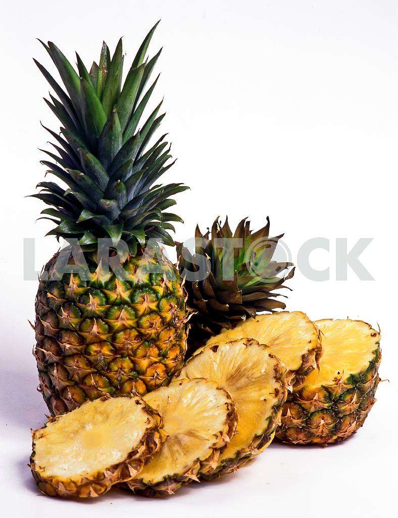 Pineapples on a white background — Image 46660