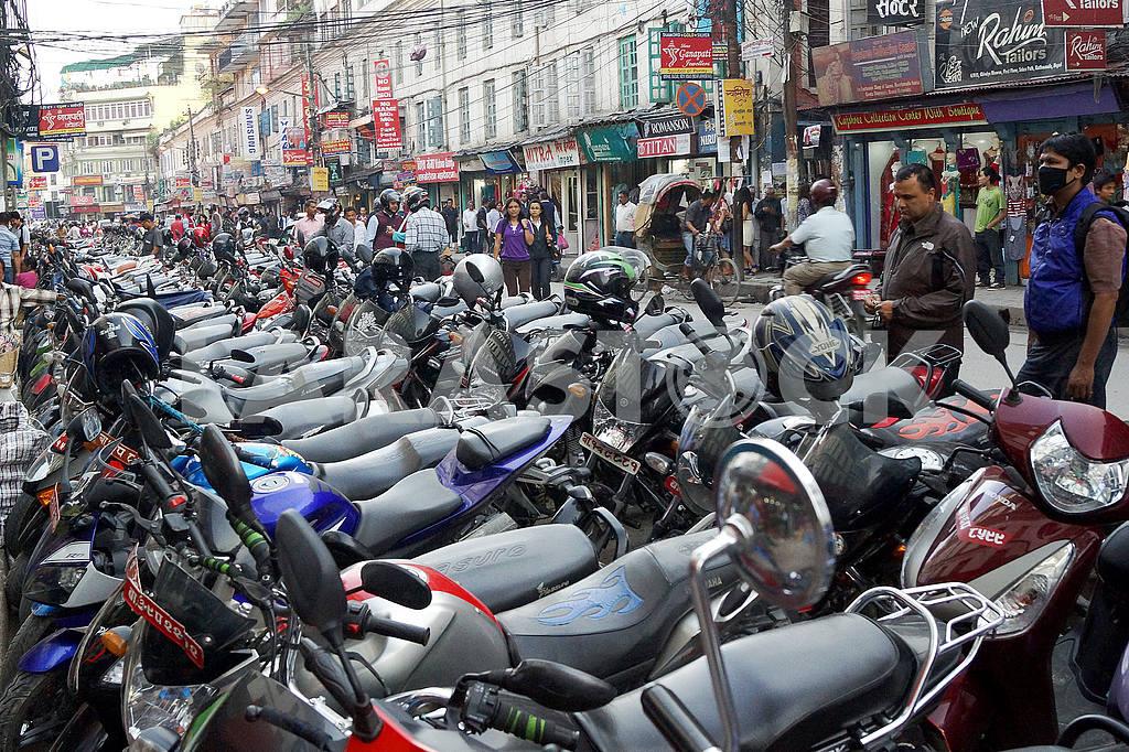 The streets of Kathmandu, Nepal — Image 46810