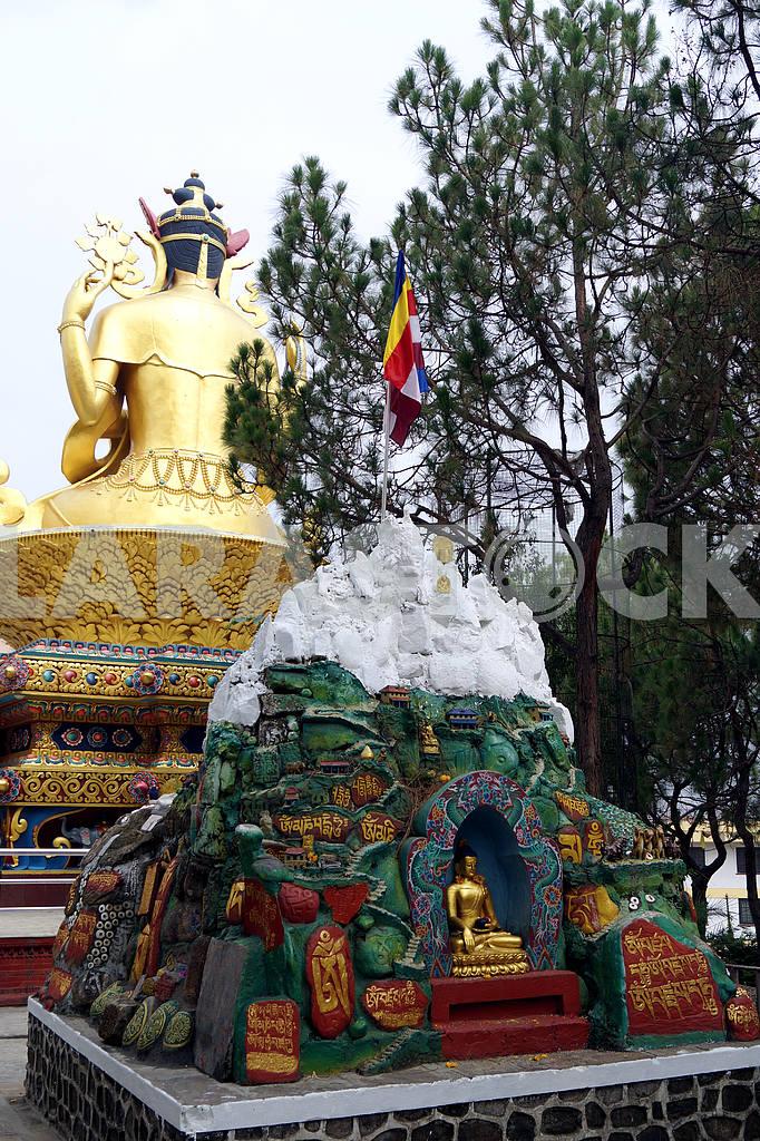 Statue of Buddha, Nepal, Kathmandu — Image 46811