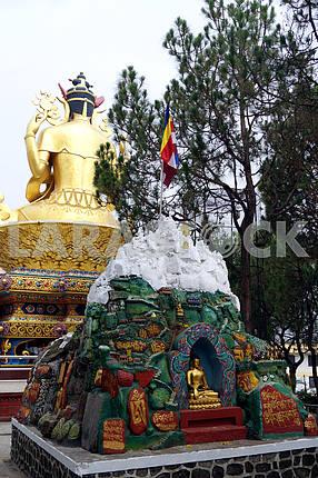 Statue of Buddha, Nepal, Kathmandu