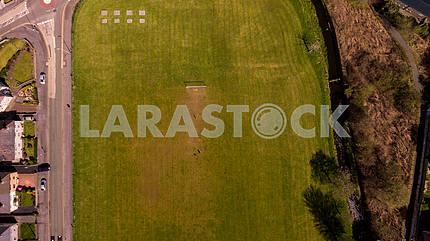 Воздушная футбольная площадка