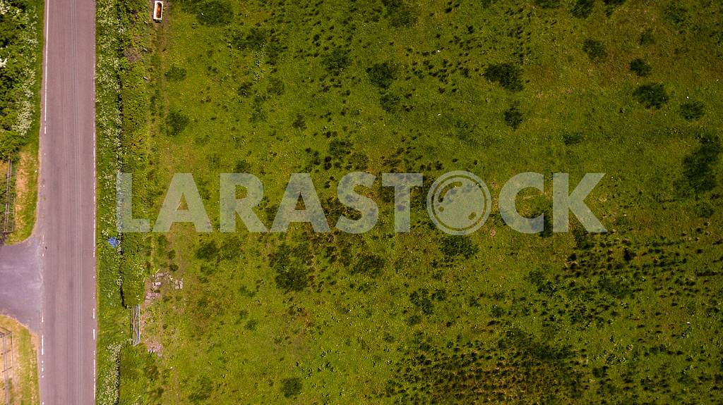 Aerial Grass Texture — Image 46929