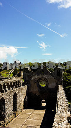 Руины замка Святого Давида