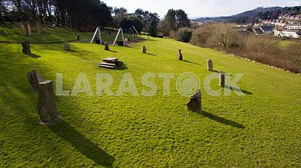 Aerial Stone Circle