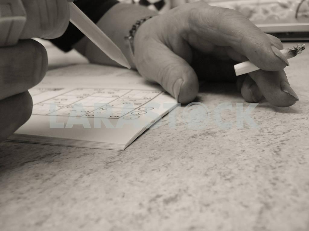 Sudoku Hands — Image 46961