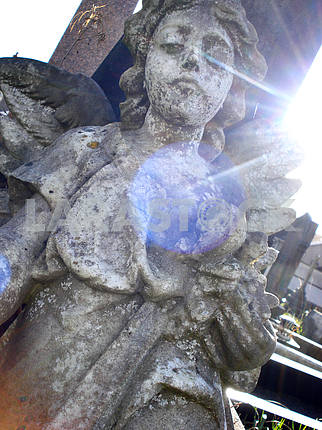 Stone Angel Headstone