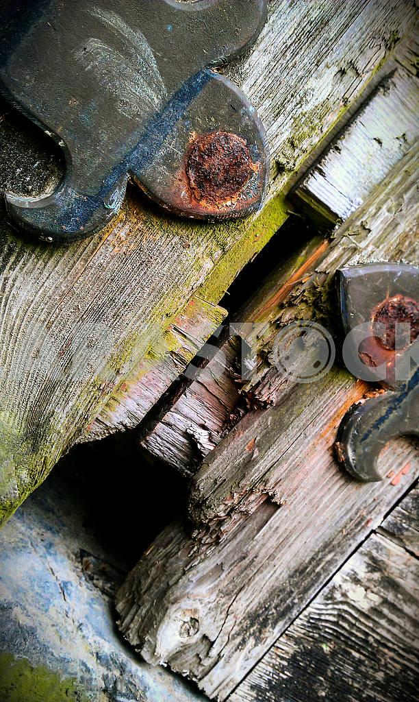 Wooden Door Detail — Image 46992