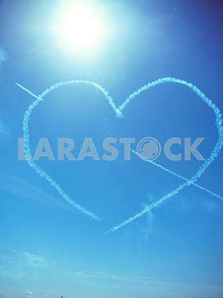 Сердцевидное облако