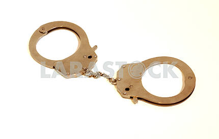 Isolated Handcuffs