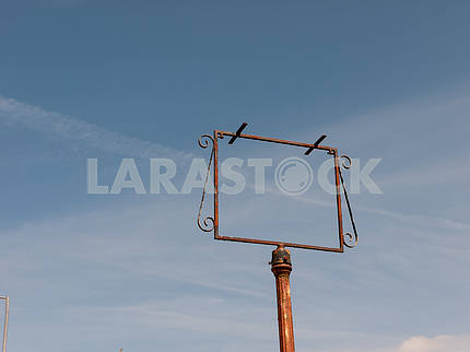 Empty Signpost