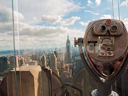Manhattan through a Viewfinder