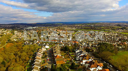 Aerial Townscape