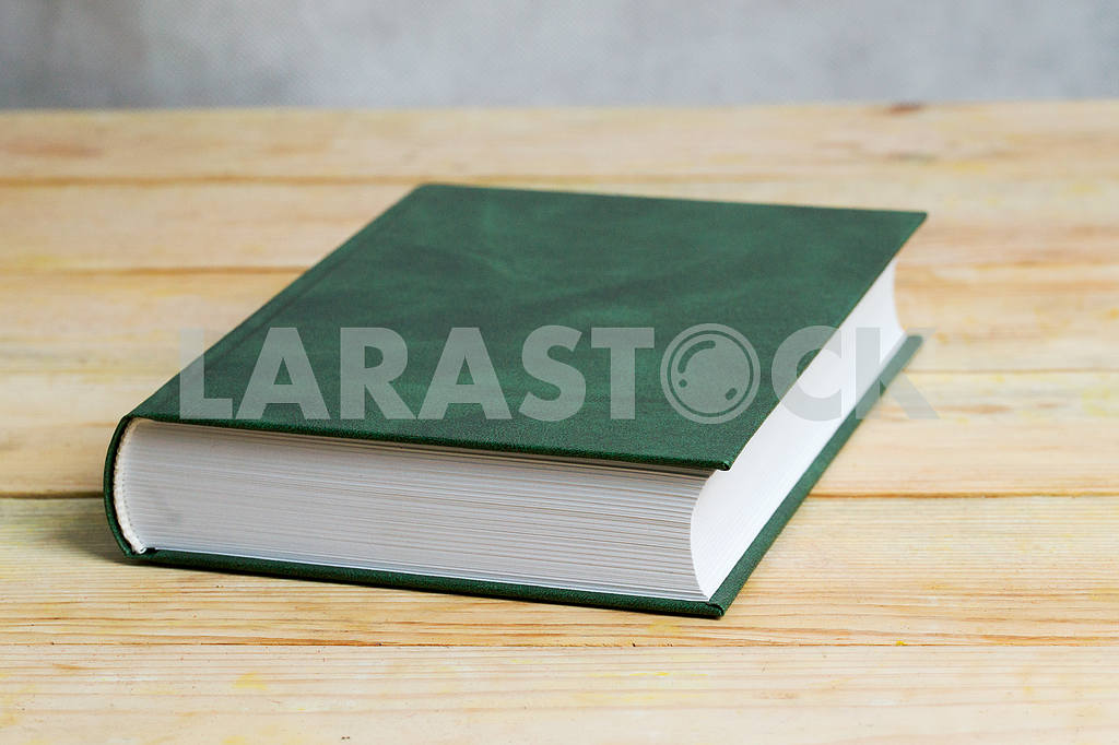 Stack of hardback books on wooden table. Back to school. — Image 47297