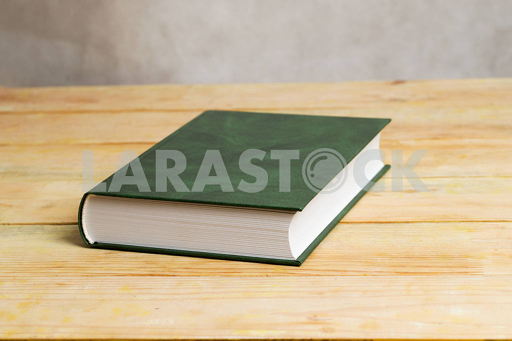 Stack of hardback books on wooden table. Back to school. — Image 47298