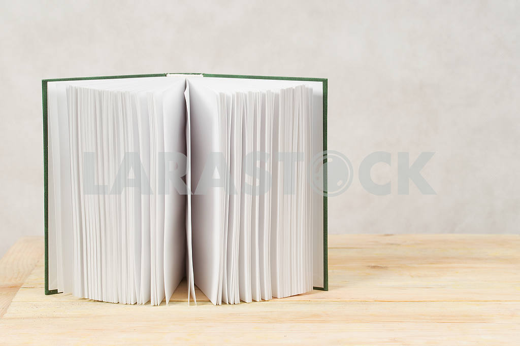 Stack of hardback books on wooden table. Back to school. — Image 47299