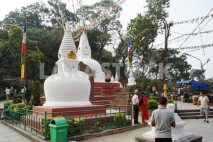 Swayambhunath Stupa, Kathmandu, Nepal.