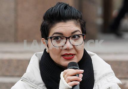 Tamila Tasheva speaks