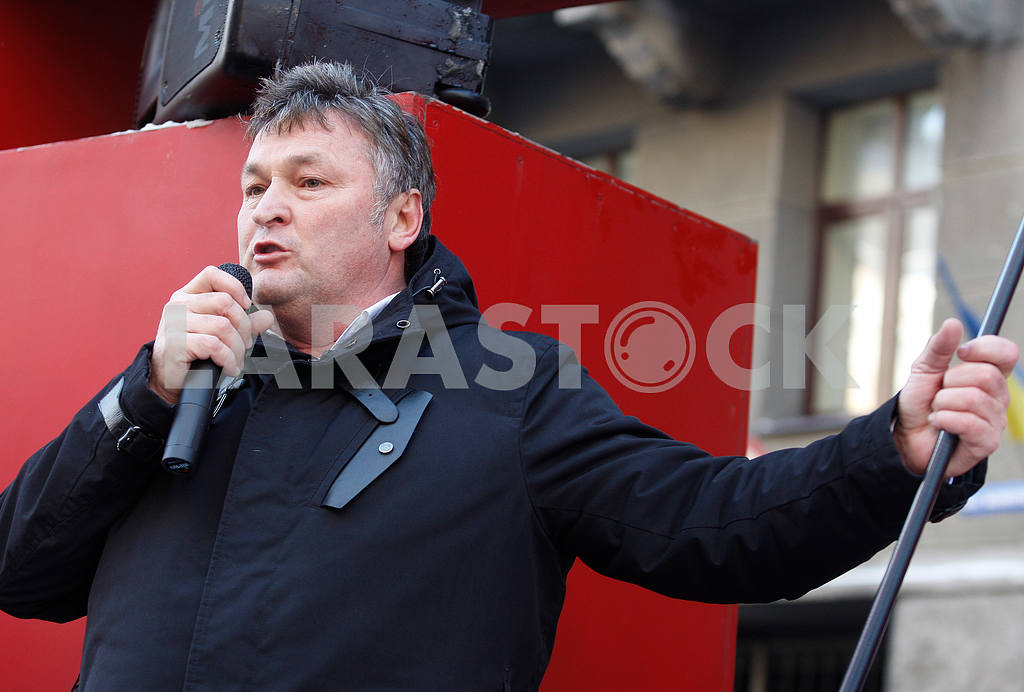 Gennady Balashov speaking at the rally,portrait — Image 47795
