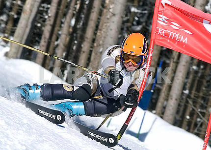 Sportsman-skier