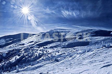 Горный пейзаж в Карпатах, Близница