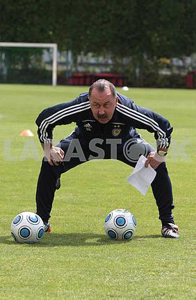 Coach Valery Gazzayev