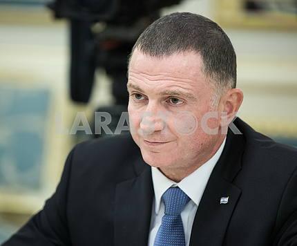 Speaker of the Knesset Julius Eidelshtein
